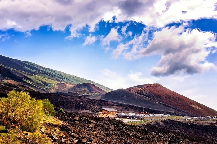 Trekking in autunno sull'Etna