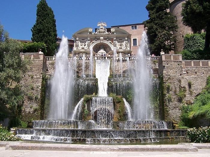 Vacanze a Roma villa d'este