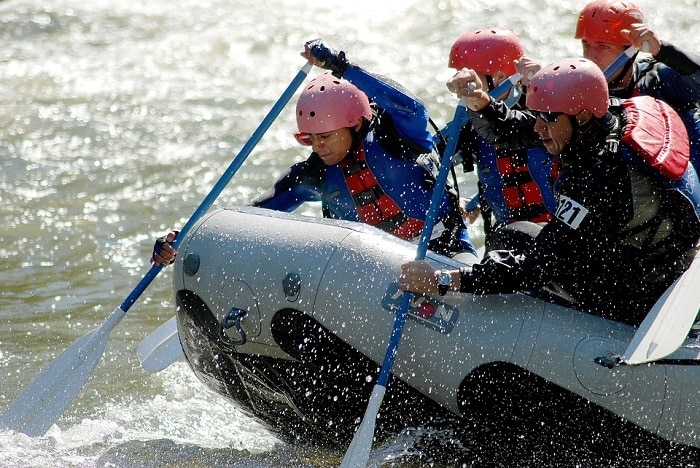 Sporti estremi Rafting